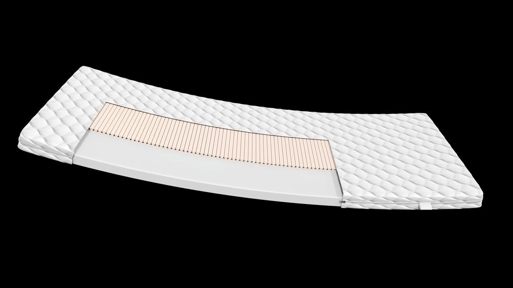 Materac piankowy z lateksem 80x184 MINNY